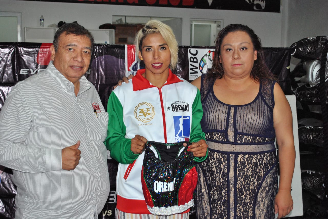 Sol Vargas en rueda de prensa