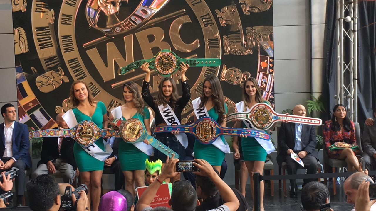 Cinturón WBC Maya