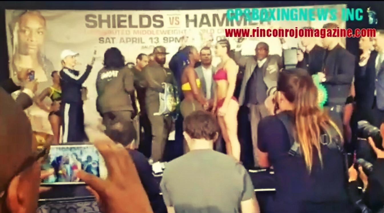 Pesaje Shields vs Hammer