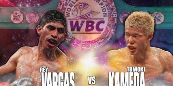 Vargas vs Kameda: Confirmado