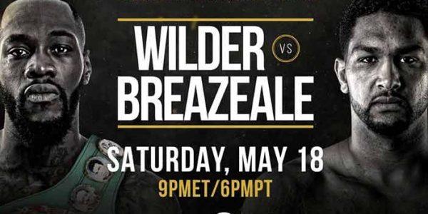 Pesaje: Wilder vs Breazeale