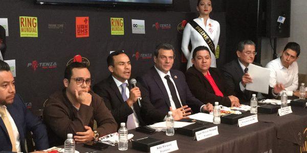 Juan Manuel Marquéz en rueda de prensa