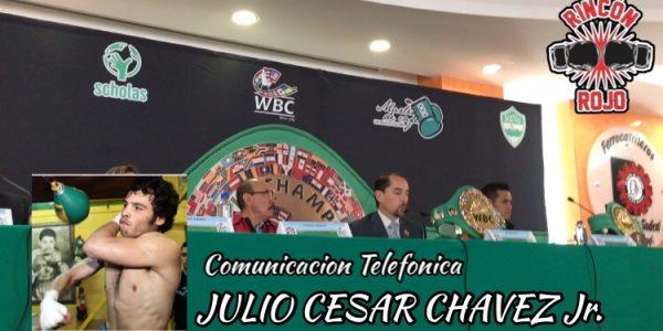 JCC Jr habló con la prensa capitalina