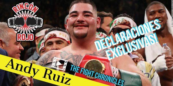 Andy Ruiz exclusivo