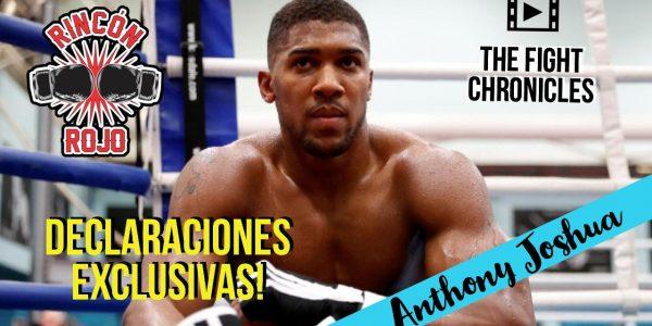 Anthony Joshua exclusivo