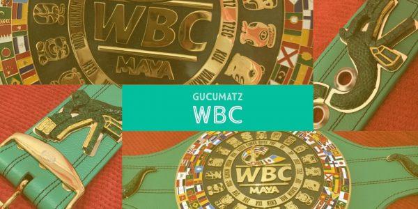 GUCUMATZ el Cinturón Maya del WBC