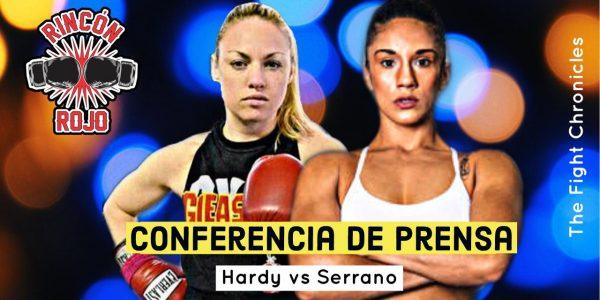 Hardy vs Serrano: Pesaje