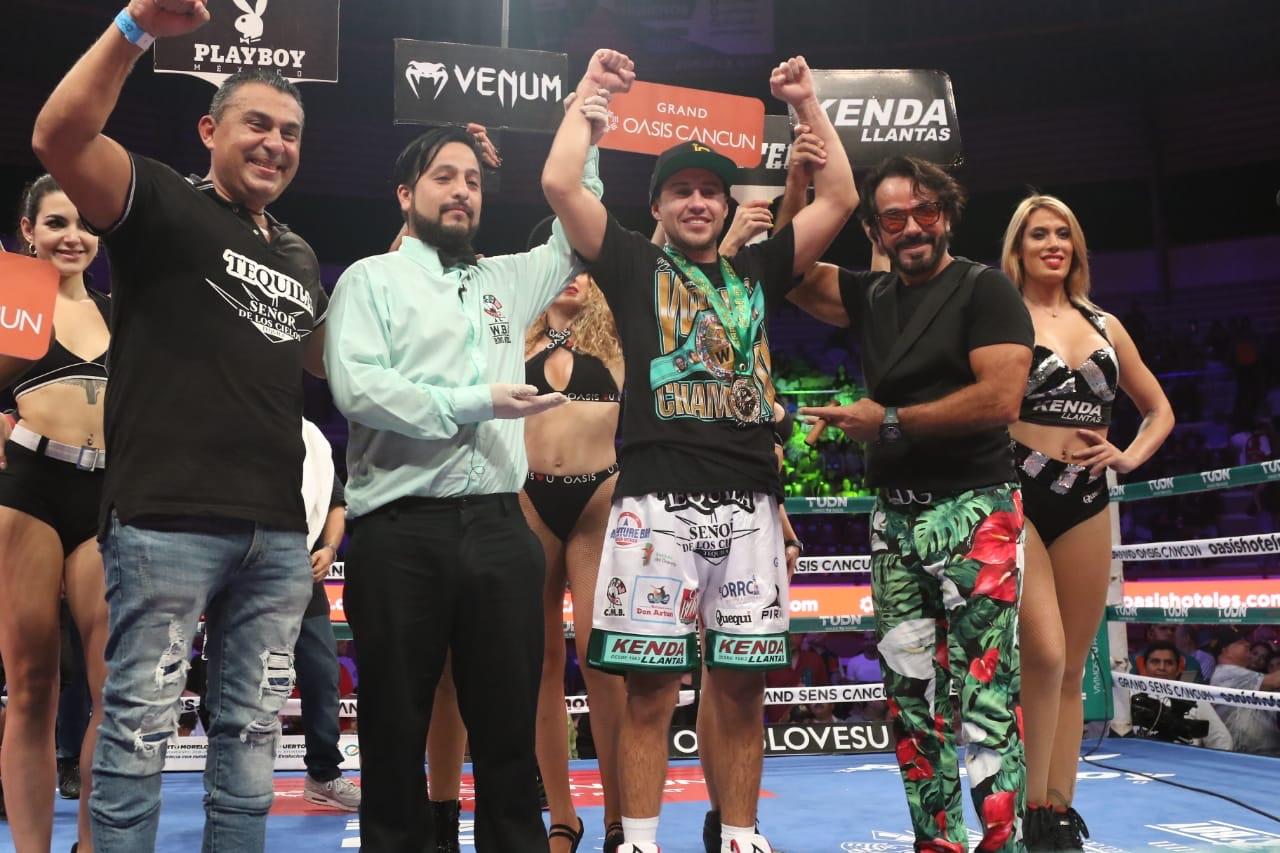 Aguirre, Rodriguez y Gomez victoriosos en Cancún