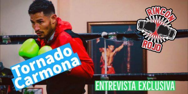 """""""Tornado"""" Carmona en entrevista"""