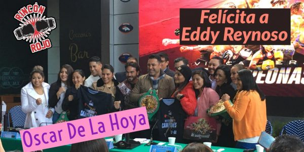 Felicita a Eddy Reynoso