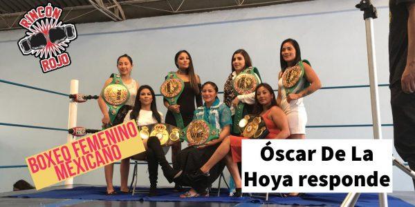 Boxeo femenil mexicano en EEUU