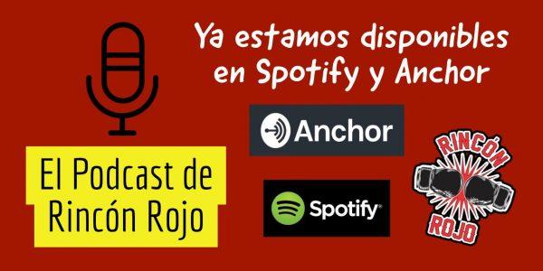 Ya estamos en Spotify y Anchor!