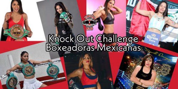 El Knock Out Challenge de las Boxeadoras Mexicanas