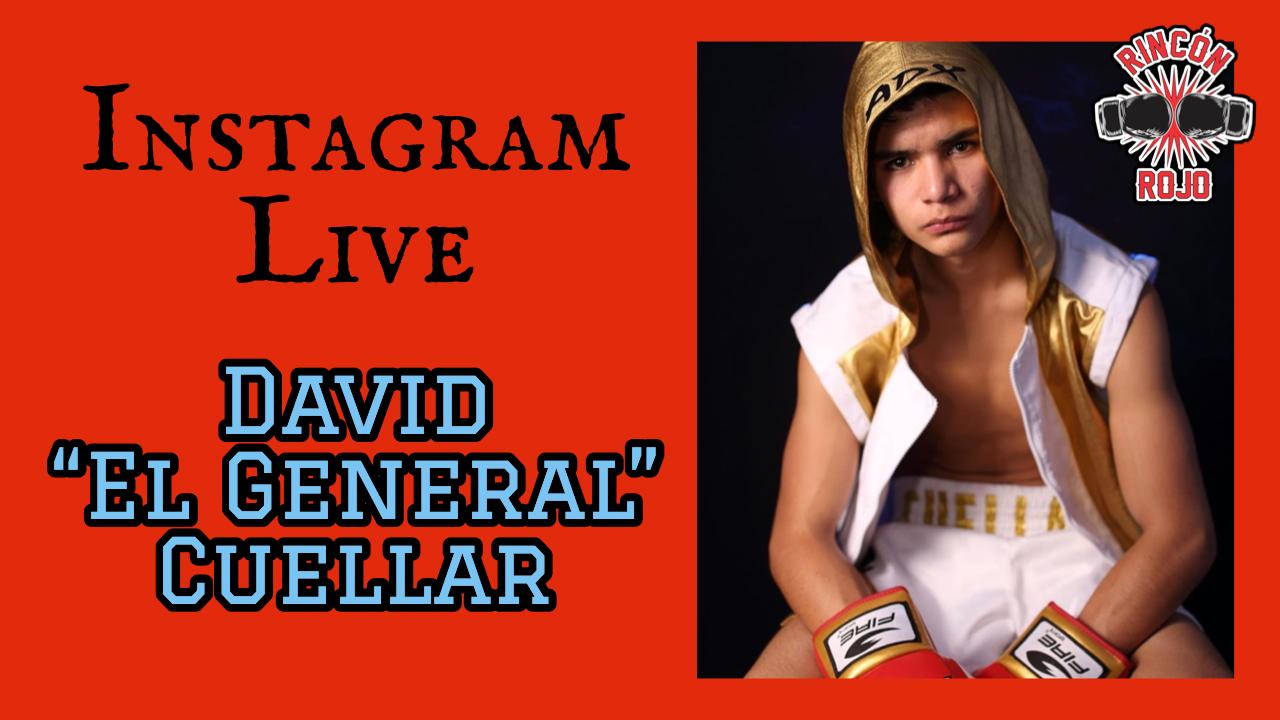 """David """"El General"""" Cuellar en RR"""
