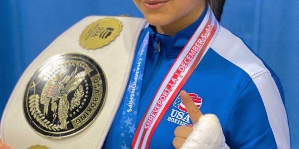 Campeona USA Boxing