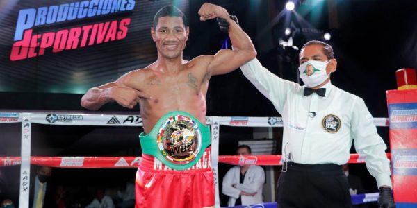 Marriaga conquista cinto regional WBC