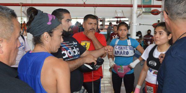 """Dia de sparring con """"La Princesa Azteca"""""""