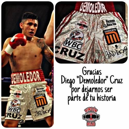 """Diego """"Demoledor"""" Cruz"""